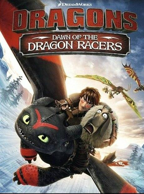 Dragons: Dawn of the Dragon Racers  poszter