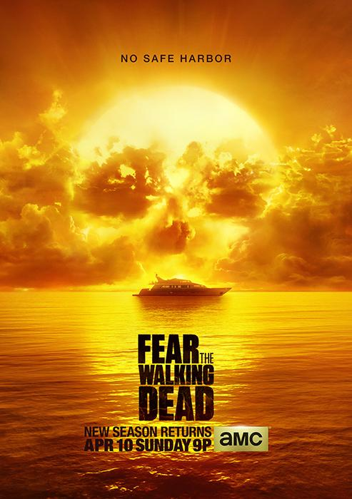 Fear the Walking Dead  poszter