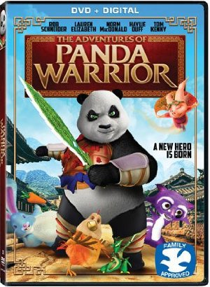 The Adventures of Panda Warrior  poszter