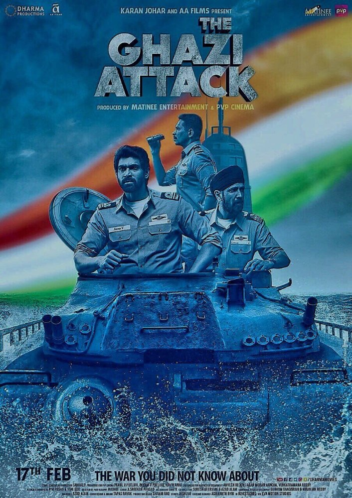 The Ghazi Attack  poszter