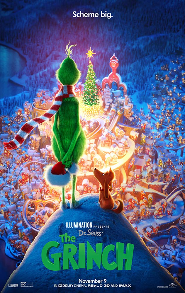 A Grincs (The Grinch) (2018)  poszter