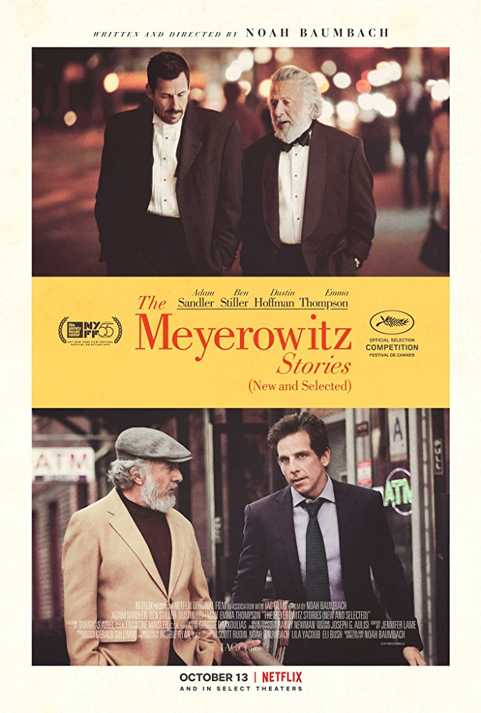 The Meyerowitz Stories  poszter